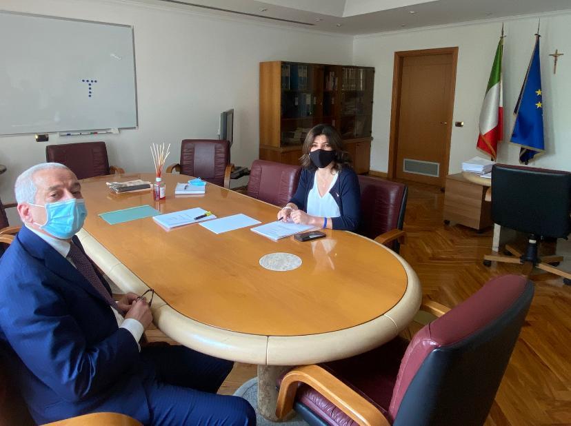 Immagine di copertina di: Lavoro: il Segretario Generale incontra il Sottosegretario Nisini